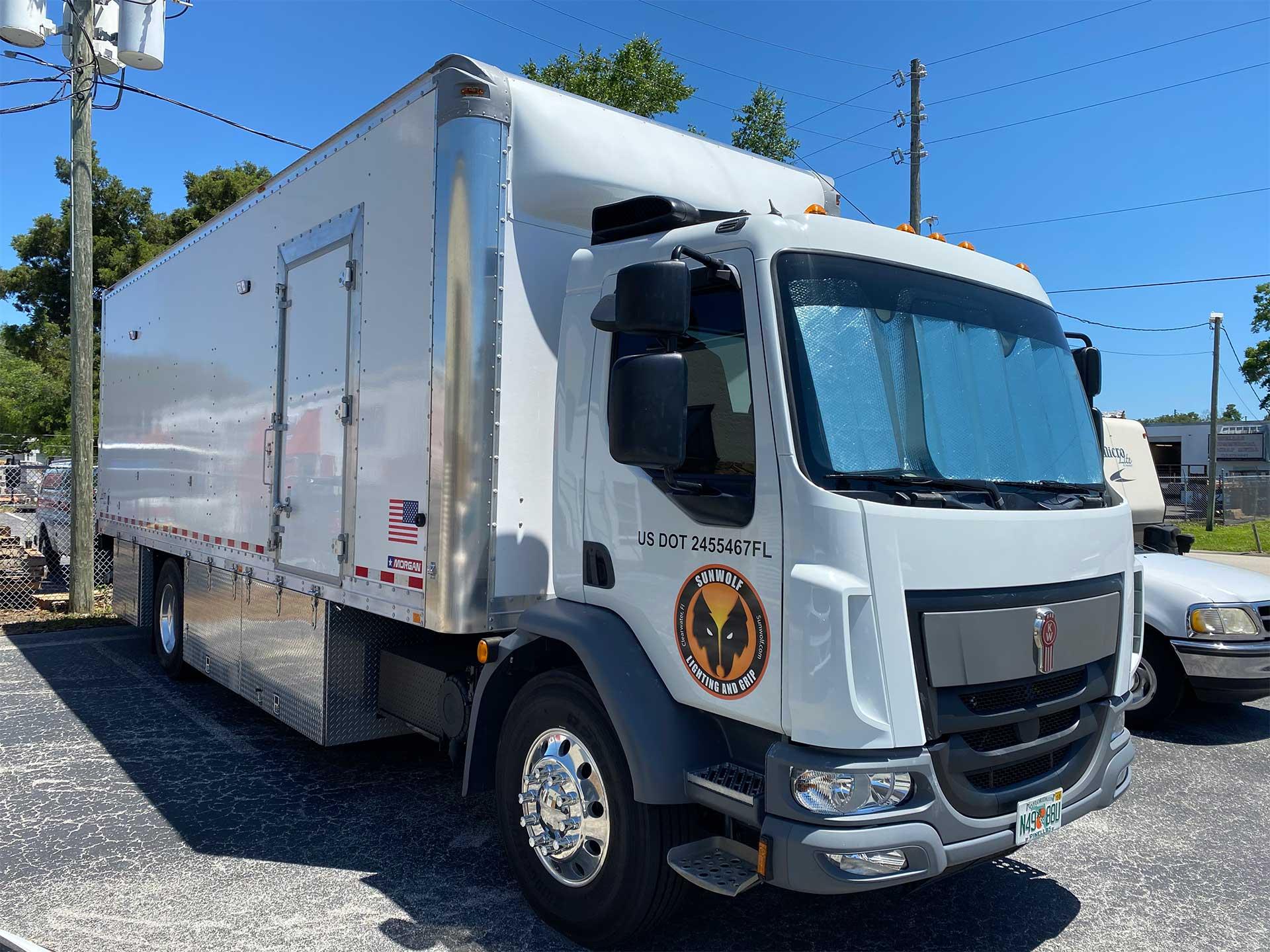 7 ton grip truck